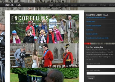 Encore Films | Web Design | Red Noise Media