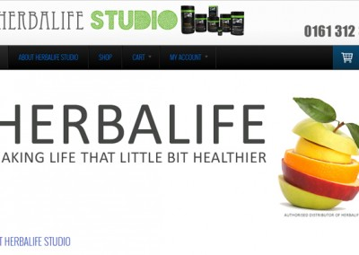 Web Design Project | Herba Life Studio