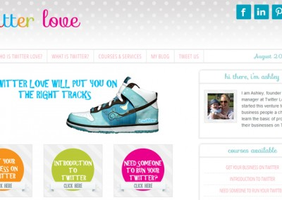 Web Design Project | Twitter Love