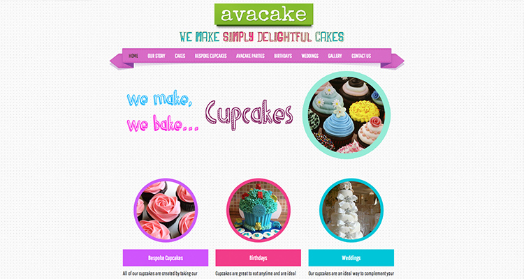 Avacake | Another Wordpress Website Design
