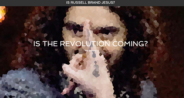 Is Russell Brand Jesus